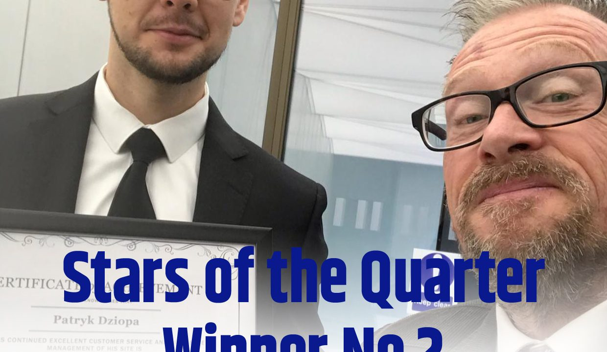 Stars of the Quarter winners 2